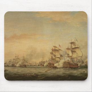 Batalla de los santos, 1782 tapetes de raton