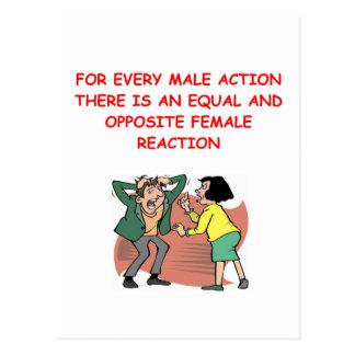 batalla de los sexos postales