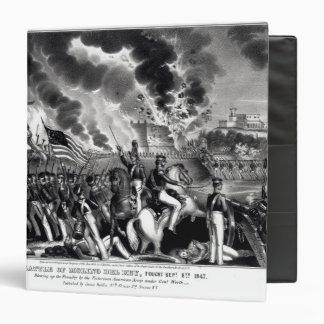 """Batalla de Molino del Rey Carpeta 1 1/2"""""""