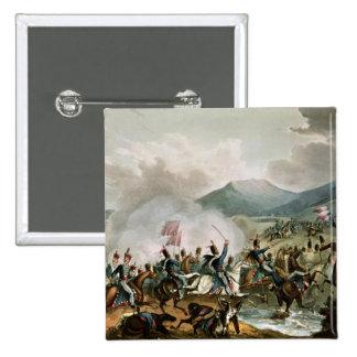 Batalla de Morales, grabada por Thomas Sutherland Pin Cuadrado