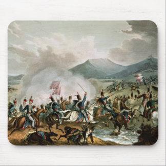 Batalla de Morales grabada por Thomas Sutherland Tapetes De Ratones