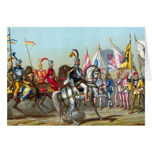 Batalla de Morat - tarjeta