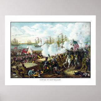 Batalla de New Orleans Impresiones