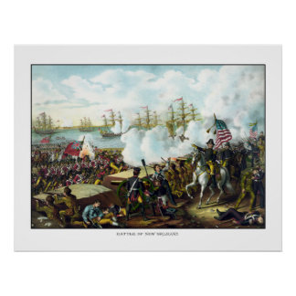 Batalla de New Orleans Póster
