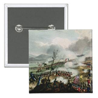 Batalla de Nivelle, grabada por Thomas Pin Cuadrado