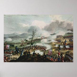 Batalla de Nivelle, grabada por Thomas Póster