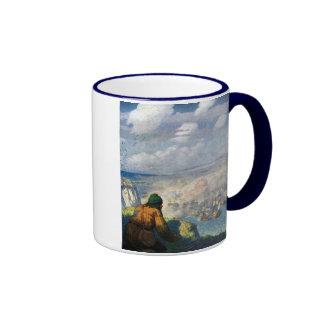 Batalla de observación de las armadas del pastor tazas de café