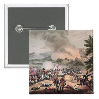 Batalla de Pombal, grabada por Thomas Sutherland Pin Cuadrado