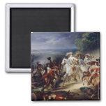 Batalla de Rocroy, el 19 de mayo de 1643, 1834 Imán