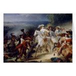 Batalla de Rocroy, el 19 de mayo de 1643, 1834 Tarjeta