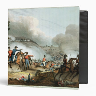 Batalla de Salamanca, grabada al agua fuerte por