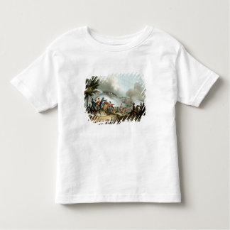 Batalla de Salamanca, grabada al agua fuerte por Playera De Bebé