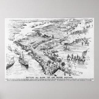 Batalla de Santiago Póster