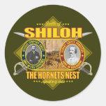 Batalla de Shiloh Pegatinas Redondas