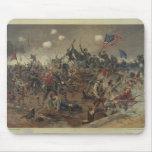Batalla de Spottsylvania de L. Prang y Co. (1887) Alfombrillas De Raton