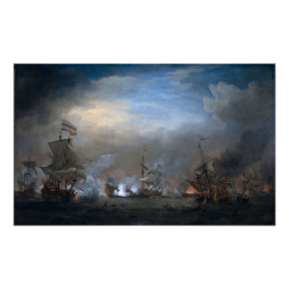 Batalla de Texel Posters