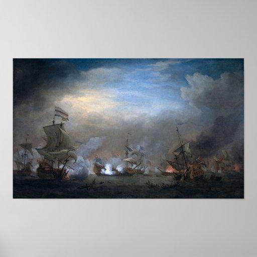 Batalla de Texel Póster