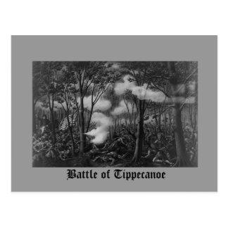 Batalla de Tippecanoe Tarjetas Postales