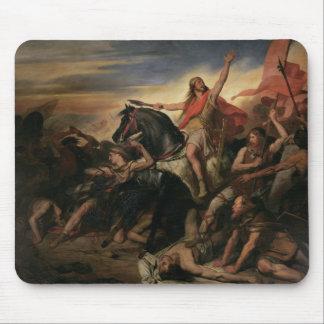 Batalla de Tolbiac en el ANUNCIO 496, 1837 Alfombrilla De Ratones