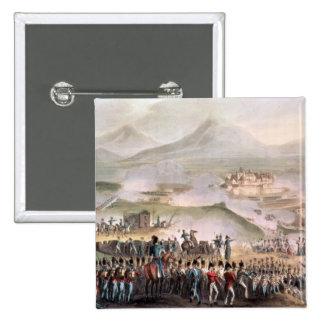 Batalla de Toulouse, Thomas grabado Sutherland Pin Cuadrado