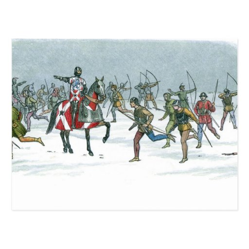 Batalla de Towton 1461 Postales