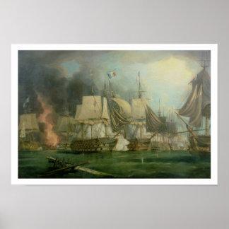 Batalla de Trafalgar, 1805 Posters