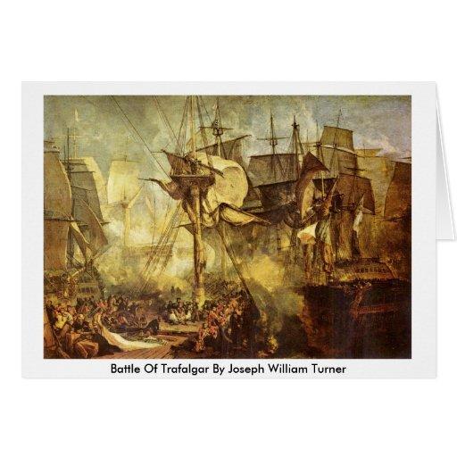 Batalla de Trafalgar de José Guillermo Turner Felicitación
