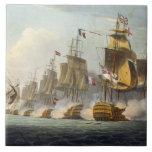 Batalla de Trafalgar, el 21 de octubre de 1805, de Azulejos Ceramicos