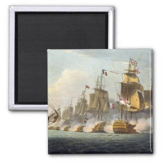 Batalla de Trafalgar, el 21 de octubre de 1805, de Imán Cuadrado