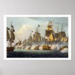 Batalla de Trafalgar, el 21 de octubre de 1805, de Poster