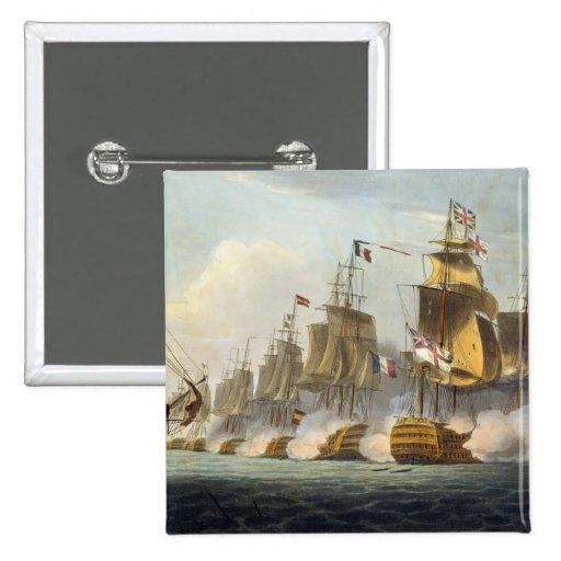 Batalla de Trafalgar, el 21 de octubre de 1805, de Pins