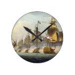 Batalla de Trafalgar, el 21 de octubre de 1805, de Reloj Redondo Mediano