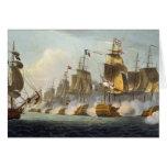 Batalla de Trafalgar, el 21 de octubre de 1805, de Tarjeta De Felicitación