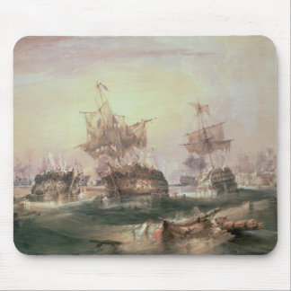 Batalla de Trafalgar el 21 de octubre de 1805 Tapete De Ratón
