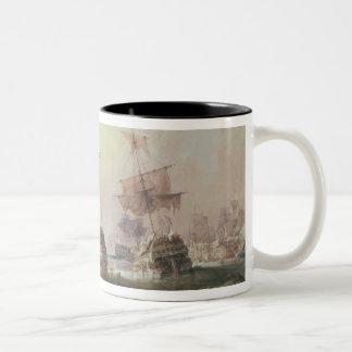 Batalla de Trafalgar, el 21 de octubre de 1805 Taza De Café