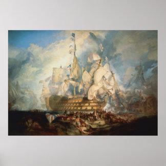 Batalla de Trafalgar Póster