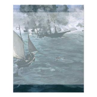 Batalla de USS Kearsarge y de CSS Alabama por Tarjeton