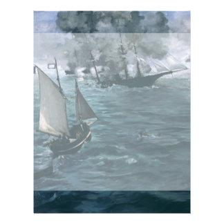 Batalla de USS Kearsarge y de CSS Alabama por Tarjetones