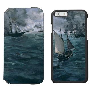Batalla de USS Kearsarge y de CSS Alabama por Funda Cartera Para iPhone 6 Watson
