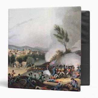 Batalla de Vittoria, grabada al agua fuerte por I.