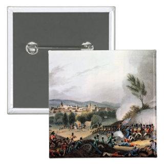 Batalla de Vittoria, grabada al agua fuerte por I. Pin Cuadrado