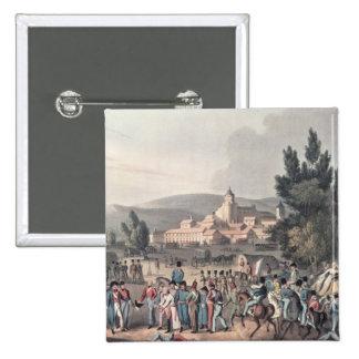 Batalla de Vittoria, trayendo en los presos Pin Cuadrado