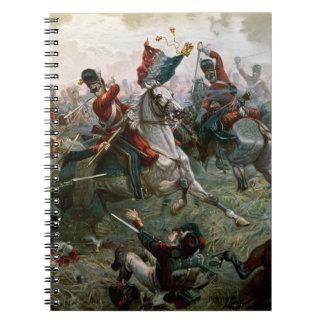 Batalla de Waterloo, el 18 de junio de 1815, 1898  Note Book