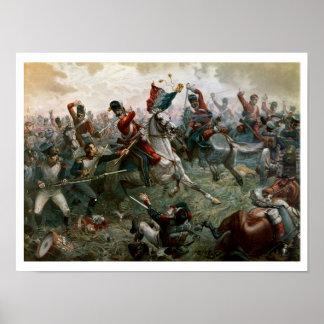 Batalla de Waterloo, el 18 de junio de 1815, 1898  Póster