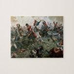 Batalla de Waterloo, el 18 de junio de 1815, 1898  Puzzle Con Fotos