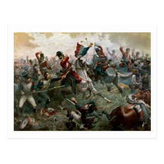 Batalla de Waterloo, el 18 de junio de 1815, 1898 Postal
