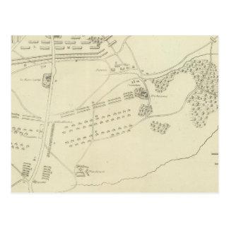 Batalla de Waterloo en Bélgica Tarjeta Postal