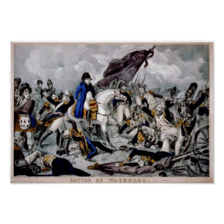 Batalla de Waterloo Poster