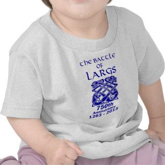 Batalla del 750o aniversario de Largs (luz) Camisetas