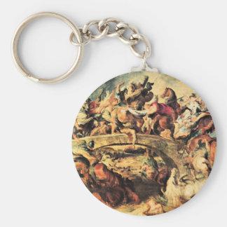 Batalla del Amazonas de Paul Rubens Llavero Redondo Tipo Pin